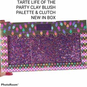 TARTE Life Of The Party Amazonian Clay Blush Glitt
